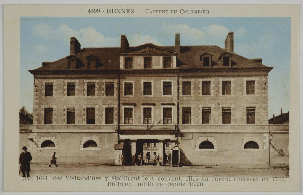 Ancienne caserne du quartier Colombier Rennes
