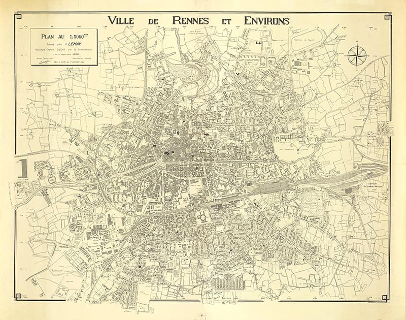 Plan de Rennes 1962