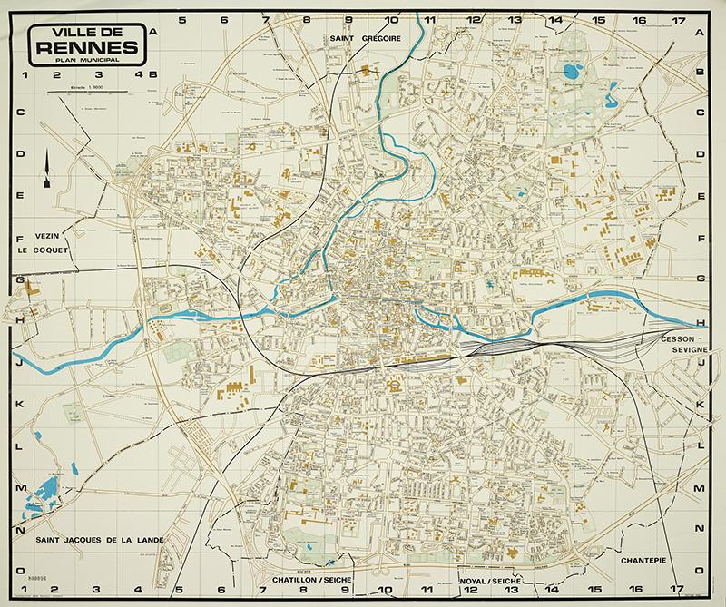 Plan de Rennes 1980