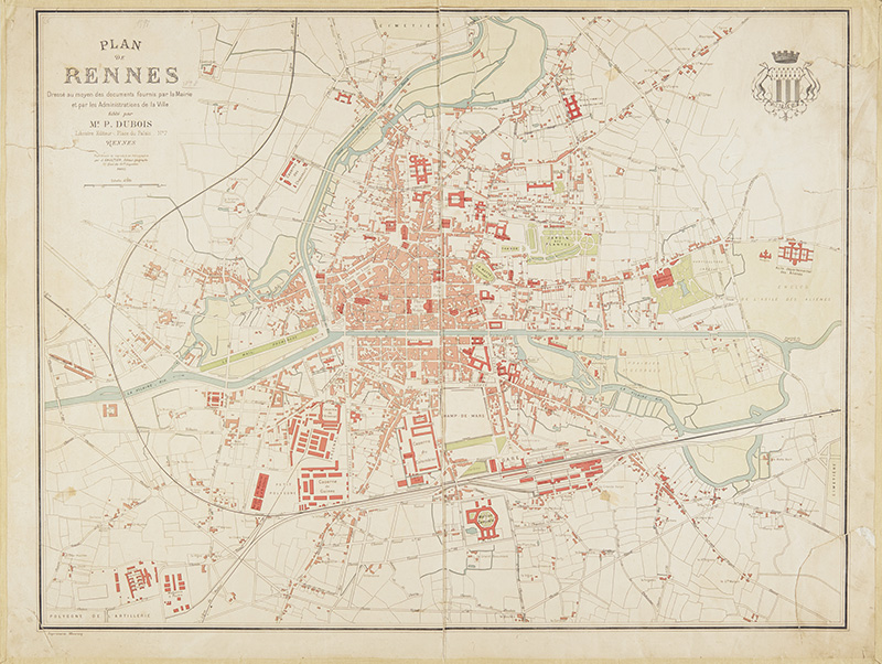 Plan de Rennes 1898