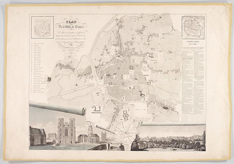Plan de Rennes 1830